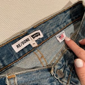 RE/DONE High-Waisted Vintage Levi's.